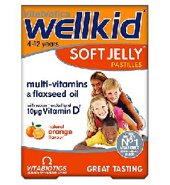 Well Kid Soft Jelly Pastilles 30pack