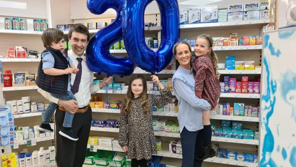 The Right Prescription: Armagh Businessman Paul McKeever, celebrates 20 successful years of McKeevers Chemists.