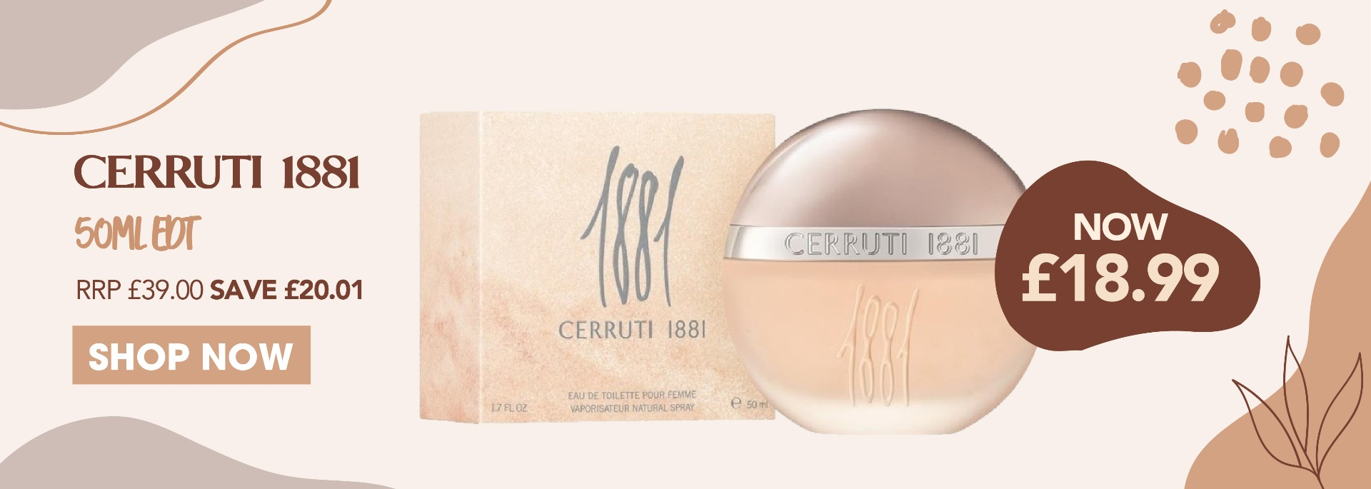 Cerruti 1881 EDT 50ml Ladies